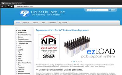 Count On Tools Launches Redesigned Online Catalog and Web Site