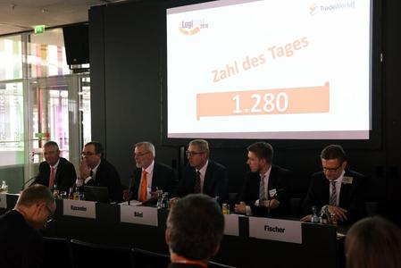 Press conference of LogiMAT 2016