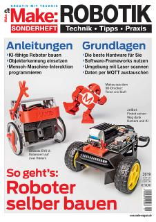 Make-Sonderheft Robotik