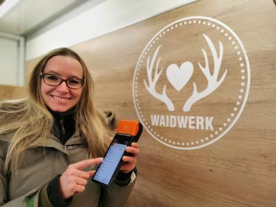 WAIDWERK setzt die PHOENIX Kasse auf Wochenmärkten ein