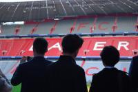 Auch eine Stadionführung durch die Allianz Arena stand auf der Agenda.