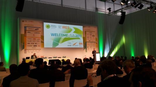 Gemeinsamer Auftakt der IRES und ESE-Konferenz stellt Energiespeicher in den Mittelpunkt