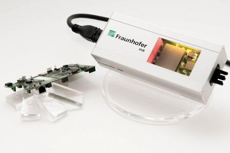 Intelligent and data-connected DC-Power Supply by Fraunhofer IISB for monitoring and analysis of power quality and consumption.