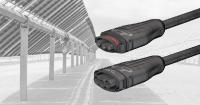 Stäubli MC4-Evo AC in Solarkraftanlagen, z. B. bei PV-Trackern