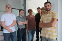 NewTec Mitarbeiter am neuen Standort