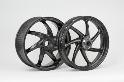 The first matt-coated carbon wheels for Ducati Panigale V4 by thyssenkrupp Carbon Components