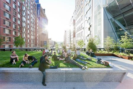 The High Line has become a magnet for visitors to the city: it's not only New Yorkers who love meandering along this green park on stilts. Photo: Iwan Baan