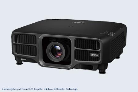 Abbildungsbeispiel Epson 3LCD-Projektor mit Laserlichtquellen-Technologie