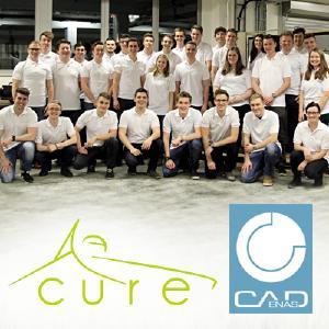 CADENAS unterstützt das Formula Student Team CURE aus Mannheim mit dem Strategischen Teilemanagement PARTsolutions bei der Konstruktion ihres Rennwagens