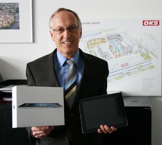 Norbert Schiekl - Gewinner unserer Ipad-Aktion.