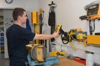 In der zentralen Sitech-Werkstatt in Weiden wird das gesamte Maschinensteuerungsportfolio gewartet, repariert und überprüft / Foto: SITECH