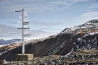 Im Keno Hill-Bezirk (Yukon); Foto: Metallic Minerals