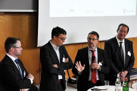 Diskussionsrunde mit den Experten des Forums