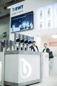 Auf der Internorga 2019 präsentierte BWT water+more modernste Wasseroptimierungs-Technologien für alle Anwendungsbereiche des Außer-Haus-Business.   / Foto: neun a ohg/Sinan Muslu