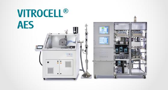 VITROCELL® AUTOMATED EXPOSURE STATION Specifically designed and engineered to facilitate the research of mammalian cell cultures in direct exposure to airborne substances such as gases, complex mixtures, nanoparticles and fibers. The system authentically simulates the conditions of human physiological exposure.
