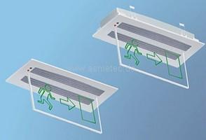 METOLIGHT LED-Notlicht für Deckeneinbau