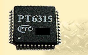 VFD Controller IC im LQFP Gehäuse mit 44 Pins