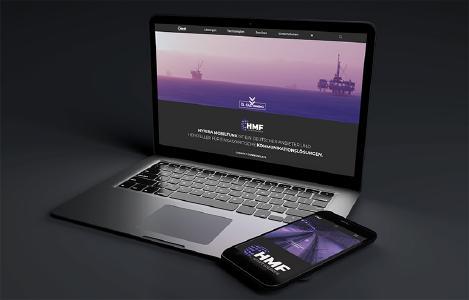 Die neue Website von HMF smart solutions.