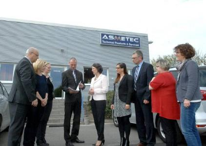 ASMETEC GmbH, Juniorchef Benjamin Freund erhält Förderbescheid der ISB