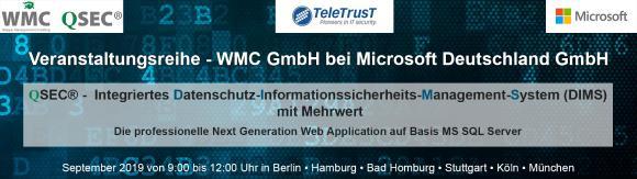 Veranstaltung Informationssicherheit und Datenschutz