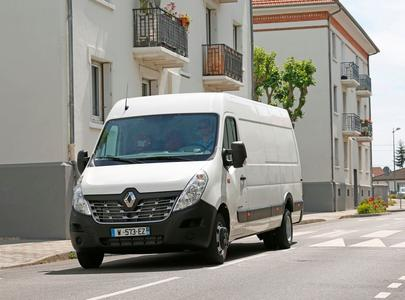 Der neue Renault Master wurde erst 2014 auf der Commercial Vehicle Show von Birmingham vorgestellt