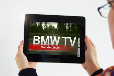 """BMW nutzt neue Möglichkeiten des """"iPad"""""""