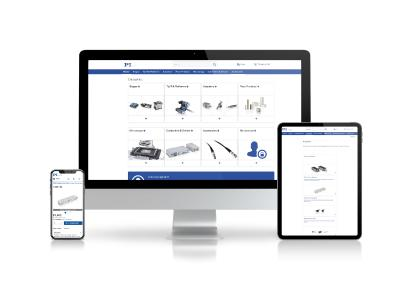 Home page of the PI online shop
