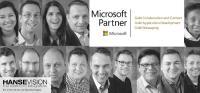 Microsoft Partner HanseVision - 3-fach Gold
