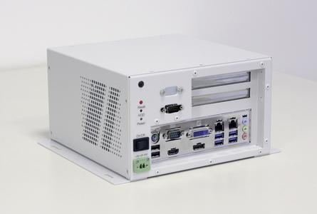 Wandmontierbarer Box-Industrie-PC Embedded Line EL211x mit zwei Erweiterungssteckplätzen