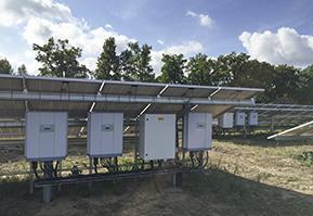 Feature Solarpark Lynow Delta M50A solar inverters