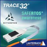 Lauterbach announces SAFERTOS® awareness from TRACE32®