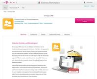 weclapp Telekom Business Marketplace CRM