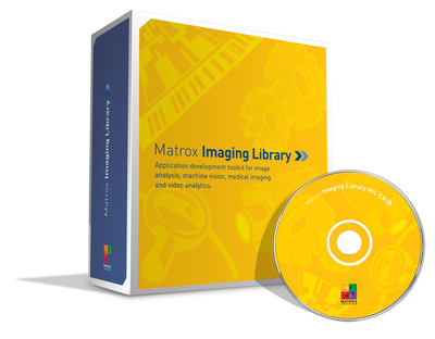 Matrox Imaging Library - MIL 9.0 - operates at full throttle