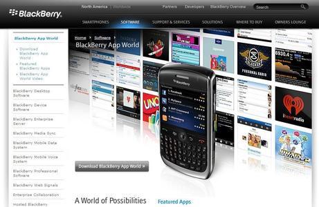 RIM launcht die BlackBerry App World