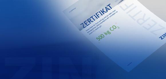 ZINQ Zertifikat  Rechteck