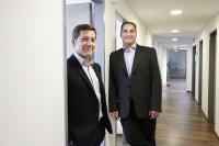 Dipl.-Ing. Otto Meinhart und Gerhard Hipfinger, Gründer und Geschäftsführer der openFORCE Unternehmensgruppe. © openFORCE Information Technology