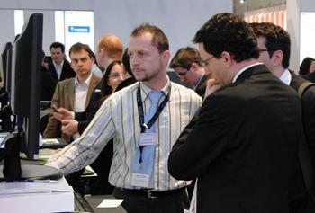 Data One auf der Control 2010