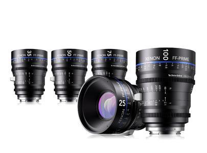 Xenon FF-Primes 25, 35, 50, 75 & 100 mm.