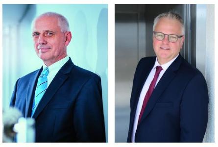 Dr. Frank Springorum (links) und Thomas Hüttenhein (rechts)
