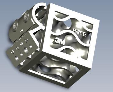 Mit der von 3M entwickelten Technologie lassen sich erstmals vollfluorierte Polymere wie Polytetrafluorethylen (PTFE) mittels 3D-Druck verarbeiten