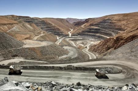 Figure 1: San Miguel open pit; Pirquitas Mine