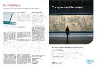 [PDF] Glasratgeber und Anzeige der Pilkington Deutschland AG in der Fachzeitschrift MUSEUM.DE