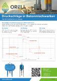 Druckschläge in der Wasserversorgung von Betonmischwerken