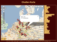 Screenshot von digitaler Chatterkarte