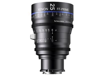 Schneider-Kreuznach's XENON FF-Prime T2.1/25mm.