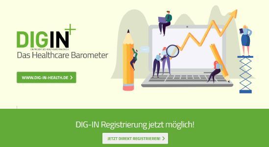 DIG-IN Befragung von Entscheidern der Gesundheitswirtschaft zur Digitalisierung