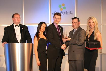 """SITA and Appear Win """"Best Wireless Broadband Mobility Solution"""" Award at WBI Awards 2009"""