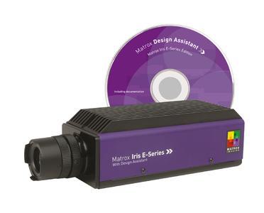 Matrox Iris-E - a powerful smart-camera / software package