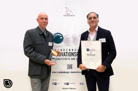 v.l.n.r. Richard Hurding (Zelfo Technology) und Eduardo Gordillo (BIO-LUTIONS)