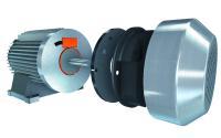 Einsparung von Platz und Kosten. Magnetisches Messsystem.  100 % in Asynchronmotor dank innovativer Abschirmtechnologie.  Kompaktes Motorendesign